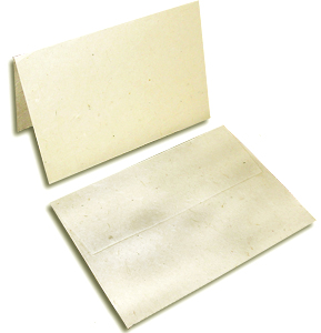 Lotka Seeded Blank Thank You Cards and Seeded Envelope