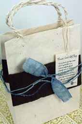 Large Lotka Seeded Gift Bag (does not come decorated)