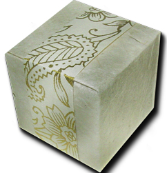 Lotka Seeded Favor Box - Golden Garden