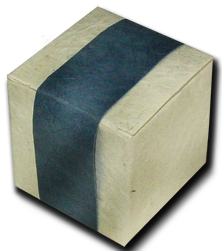Lotka Seeded Favor Box - Spruce