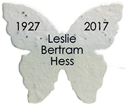 Click for custom printed seed paper butterflies