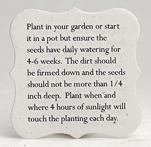 Recycled and Seeded Planting Guide