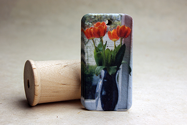 tulips seed paper tag