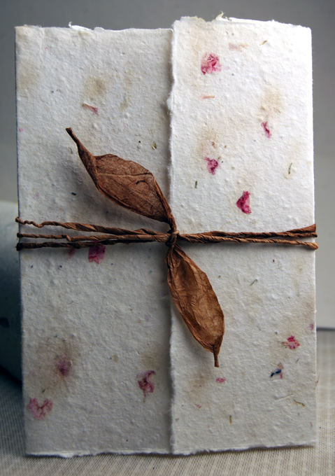 7x10_cotton_seed_paper_invitation_hemlock_2s invitations handmade for weddings seed paper, pressed flowers,Seed Paper Invitations