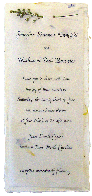 Assemble At Home Tea Length Invitations Misty And Vellum