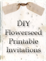 Click here for DIY Flowerseed Printable Invitations