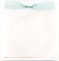 6x6 cotton invitation