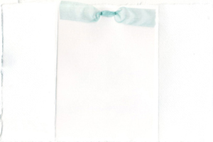white cotton paper