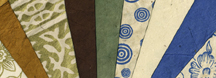 A wide variety of different colors and patterns on our lotka paper