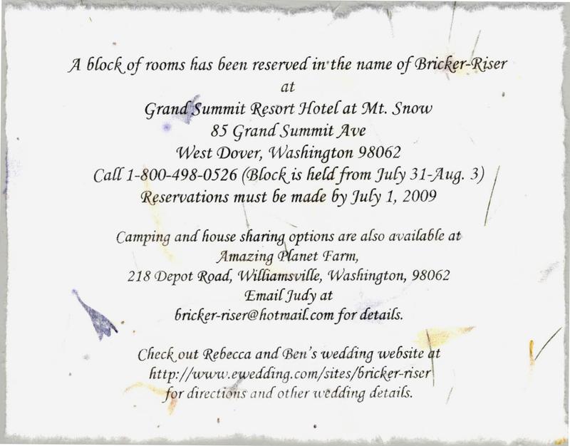 Wedding maps & wedding direction cards | invitations by dawn.