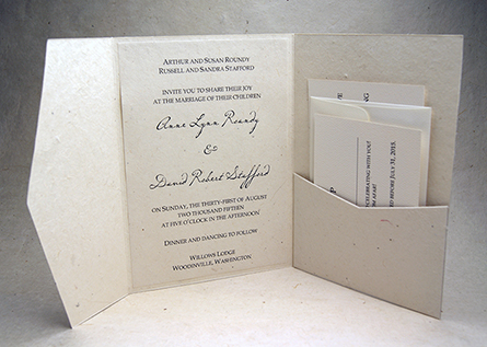 pocketfold invitation
