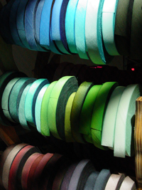 Hand Dyed Silk Ribbon variegated colors