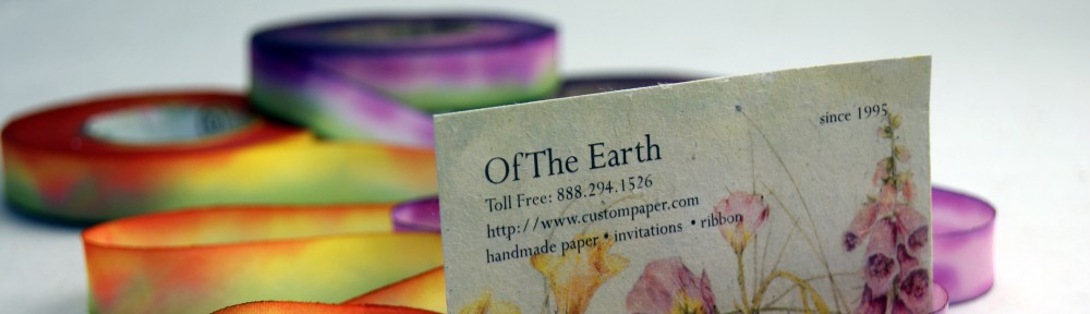 Of The Earth – paper and ribbon artists