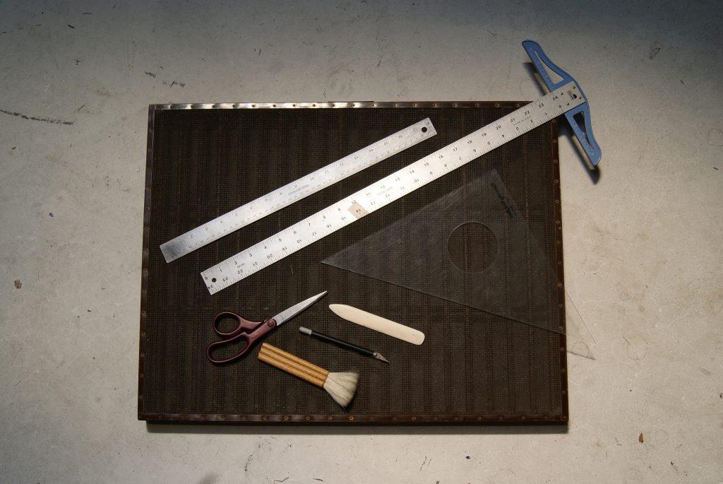 Handmade paper tool kit