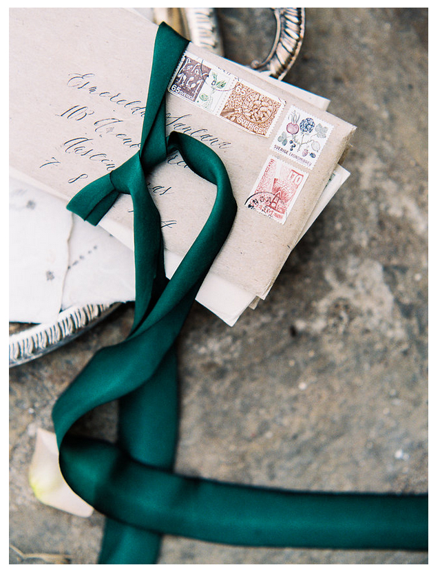 Green Earth Silk Ribbon