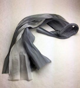 Grey Earth Silk Bouquet Cascade