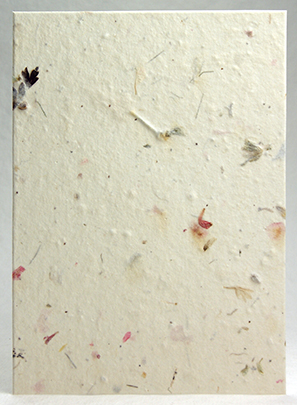 100% Recycled handmade paper